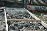 Múzeumbővítés betonozása (2015. 09. hó)