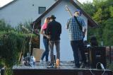 Termelői piac és Borsalino Acoustic Band koncert (2015. 08. 22.)