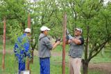 Tankerti fák locsolása és ottani munkák (2016. 05.